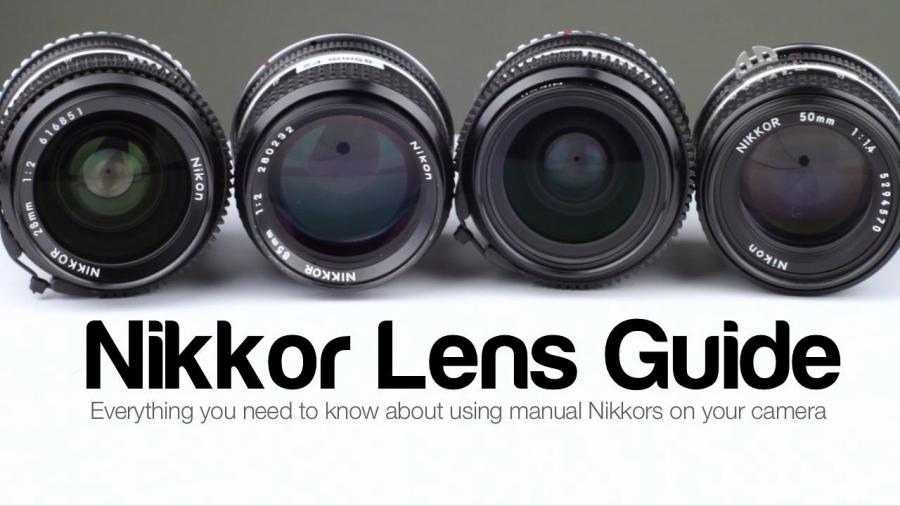 Using Manual Nikkor Lenses