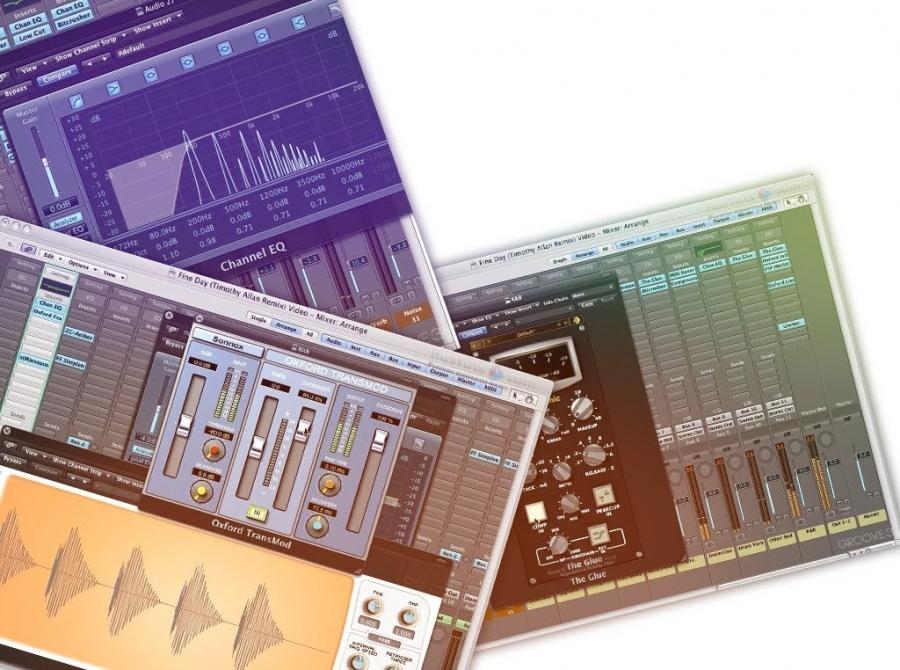 Сведение электронной музыки